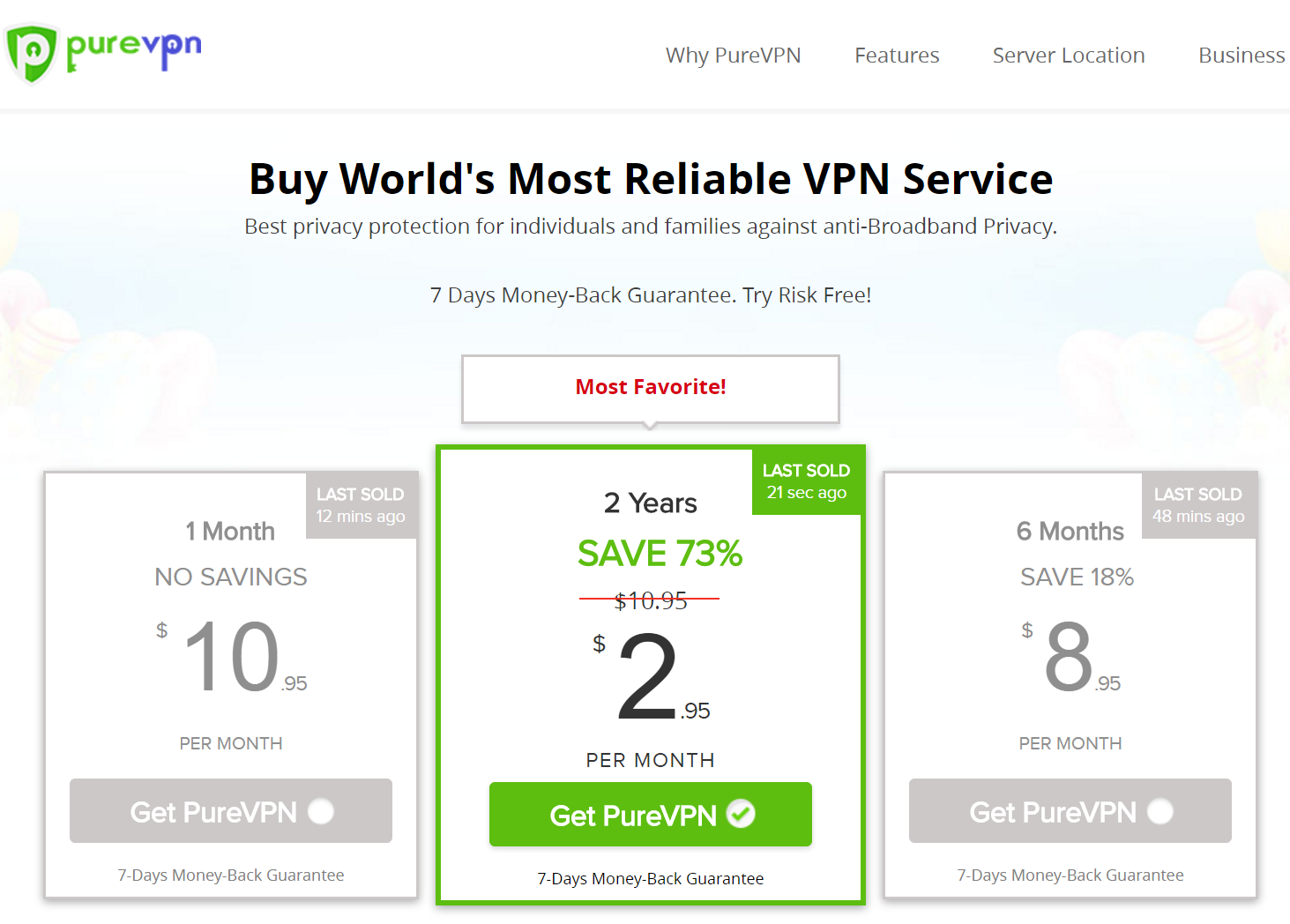 how to order purevpn